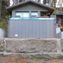 Spa Max VII sauna ees