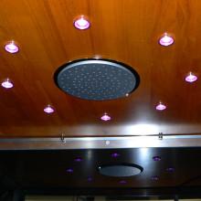 Tammepuidust lagi, 200mm vihmadušš, LED valgustus