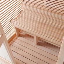Soome saun F-Cube I-V ergonoomiline iste