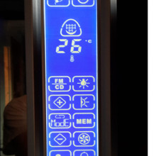 Atlantic Blue VI (1500) touch screen juhtpaneel