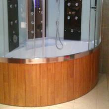 E-Cube Max VI vanni esipaneel, naturaalne tamm