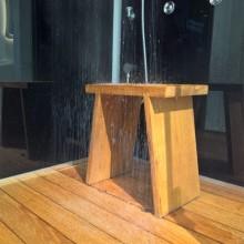 Hamam IV alusvanniga, paremakäeline, tammepuust tool
