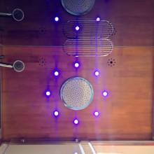 Hamam Sultan II alusvanniga LED värviteraapia
