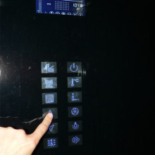 LCD ekraan, suur puutetundlik juhtpaneel