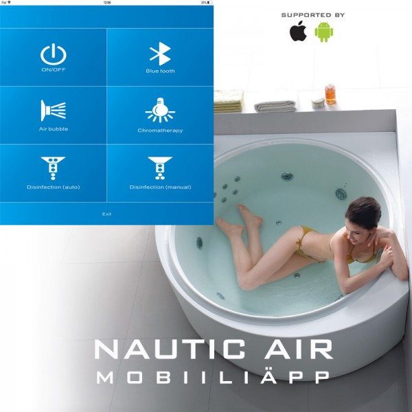 Nautic Air mobiiliäpp