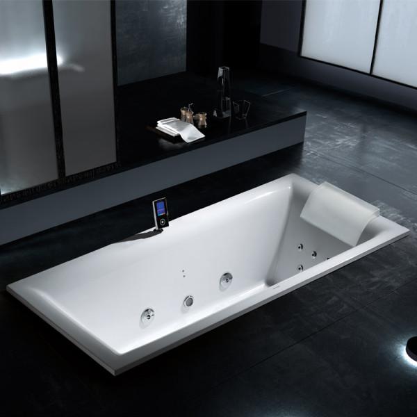 Nautic Lux I Pro, süvistatav, läbipaistev vannipadi PL1